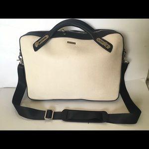 """Mens @BCHIC Beige Black 16""""Laptop Bag Office bag"""